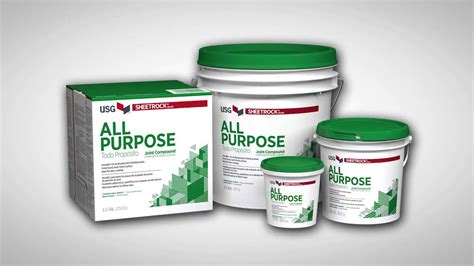 The Benefits Of Usg Sheetrock® Brand All Purpose Joint