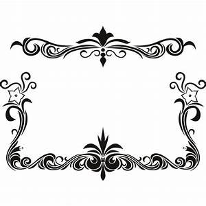 Black Flower Page Borders Design sadiakomal   Border ...