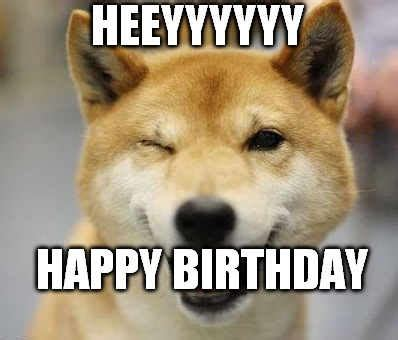 Happy Dog Meme - dog birthday meme hope you found these funny and please share them with others
