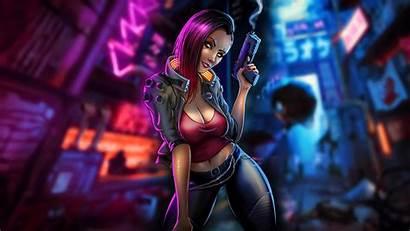 Cyberpunk 4k Fantasy Fanart Wallpapers Resolution 2077
