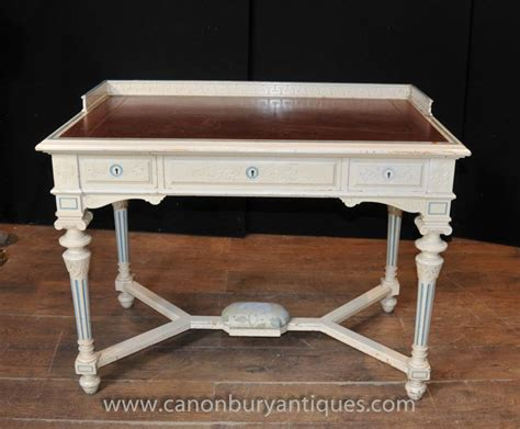 shabby chic writing desk french napoleon desk writing table bureau painted shabby chic