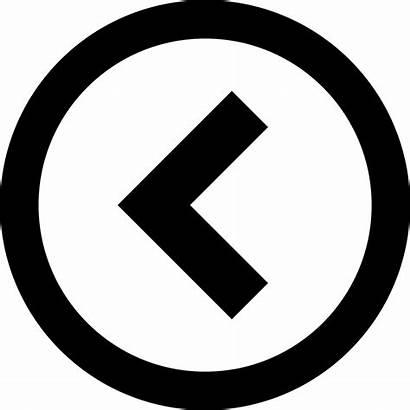 Arrow Previous Left Icon Circle Icons Svg