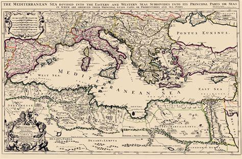 mediterranean map mediterranean sea region berry