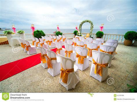 c 233 r 233 monie de mariage 224 l ext 233 rieur images libres de droits image 21378789