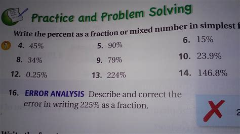 write each percent as a fraction in simplest form write the percent as a fraction or mixed number in simplest form brainly
