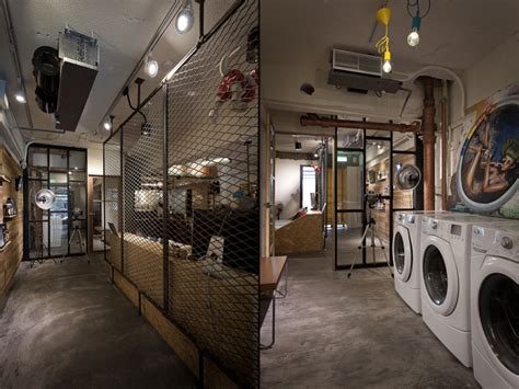 travelled km laundry cafe  formo design studio