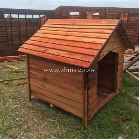 dog wooden kennel zimbabwe cabins