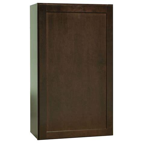hton bay shaker wall cabinets hton bay 24x30x12 in shaker wall cabinet in satin
