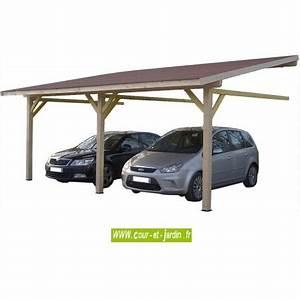 Carport 2 Voitures Alu : carport bois carport mural carport adoss couverture carport 2 voitures ~ Medecine-chirurgie-esthetiques.com Avis de Voitures