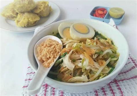 resep soto ambengan surabaya bumbu koya oleh nur