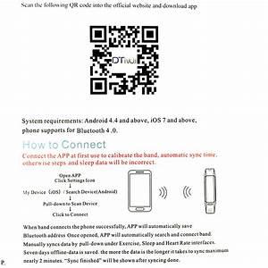 No 1 F1 Smartband How To Connect With App   U2013 No  I