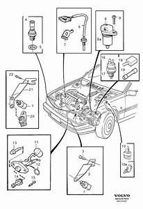 1997 Volvo 850 Vehicle Speed Sensor  Genuine Classic Part