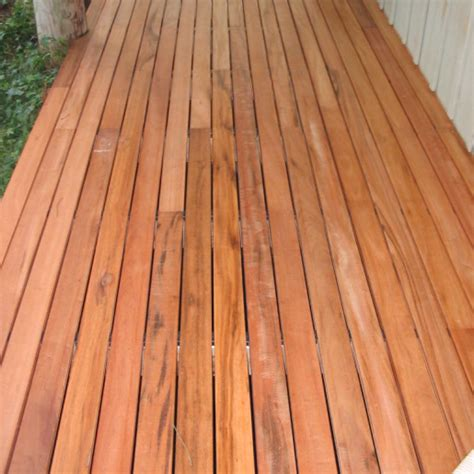 tigerwood hardwood decking clear