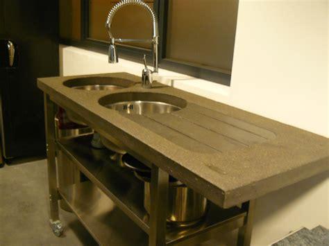 fabriquer un plan de travail cuisine fabriquer meuble salle de bain avec plan de travail