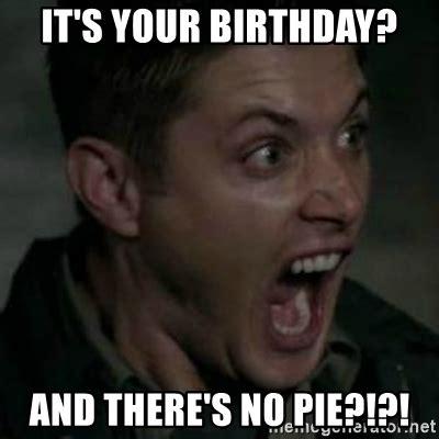Supernatural Birthday Meme - supernatural birthday meme memes