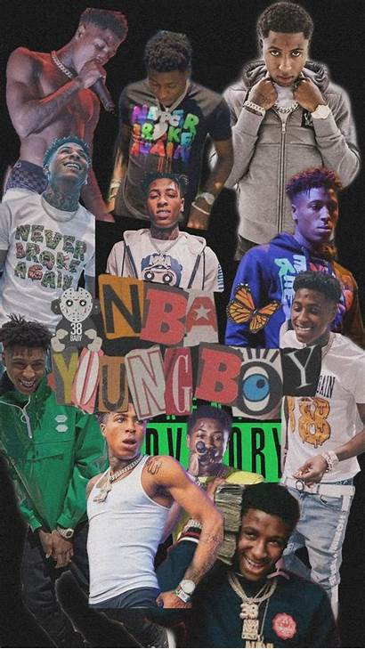 Nba Youngboy Aesthetic Collage Rapper Wallpapers Iphone