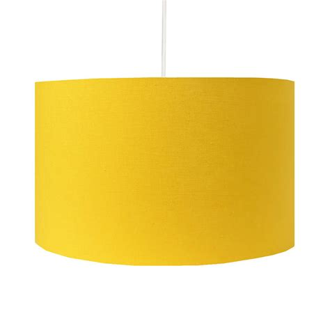 yellow drum l shade handmade sunny yellow l shade by hunkydory home