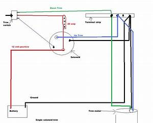 Bennett Power Trim Wiring Diagram