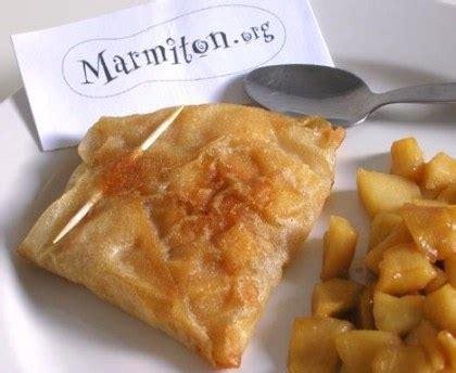 recette dessert feuille de brick pommes au miel en feuilles de brick recette de pommes au miel en feuilles de brick marmiton