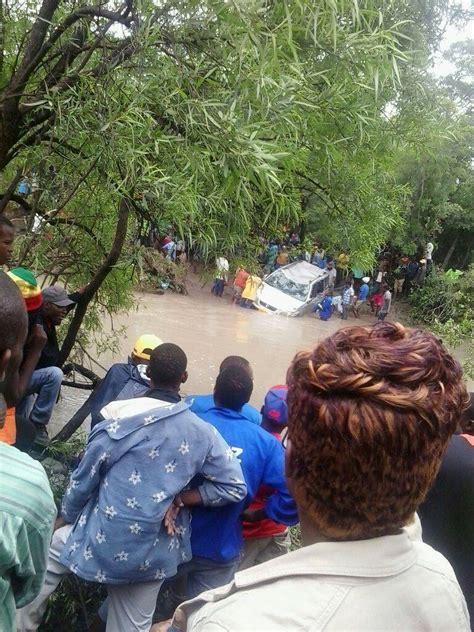 zimbabwe  dead  floods   provinces floodlist