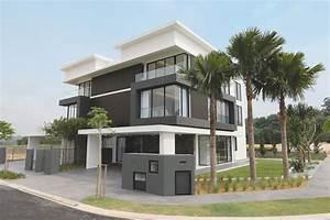 Semi d house plan malaysia - House interior