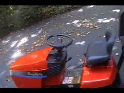 simplicity broadmoor mower youtube