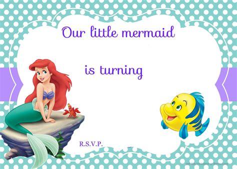 Mermaid Template Free Printable Ariel The Mermaid