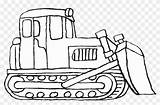 Bulldozer Coloring Pages Construction Vehicles Printable Colouring Clipart Backhoe Library Clip Cartoons Expert Kid Coloringhome sketch template
