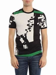T Shirt Pour Homme : t shirt teint pour homme de dolce gabbana t shirts ~ Farleysfitness.com Idées de Décoration