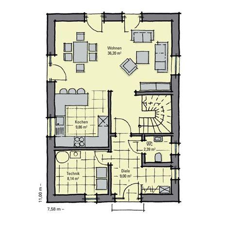 Grundriss Haus Schmales Grundstück by Grundriss Haus Schmales Grundst 252 Ck Floorplans In 2019