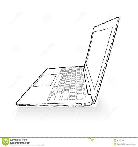 cartoon laptop drawing laptop computer   laptop