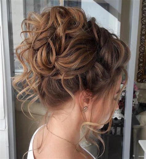 40 creative updos for curly hair hailey s wedding