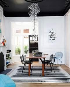Bien Peindre Un Plafond : peindre son plafond en couleur shake my blog ~ Melissatoandfro.com Idées de Décoration