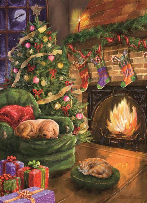 waiting  santa jigsaw puzzle calendar club uk