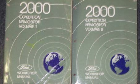 hayes auto repair manual 2000 lincoln navigator instrument cluster 2000 ford expedition lincoln navigator shop repair service manual set 2 volume ebay