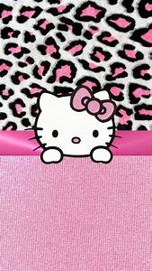 PINK HELLO KITTY IPHONE WALLPAPER BACKGROUND | IPHONE ...
