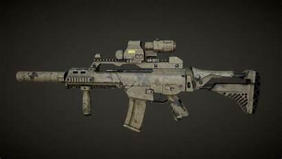 G36c Paint Weapons Rifle Military Assault Scheme