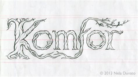 band logo design sketch coloring page