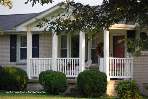 Inspiring Front Porch Ideas Ranch Style Homes Photo by Ranch Home Porches Add Appeal And Comfort