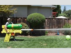 The World's Largest Super Soaker Shoots Water at 272 MPH