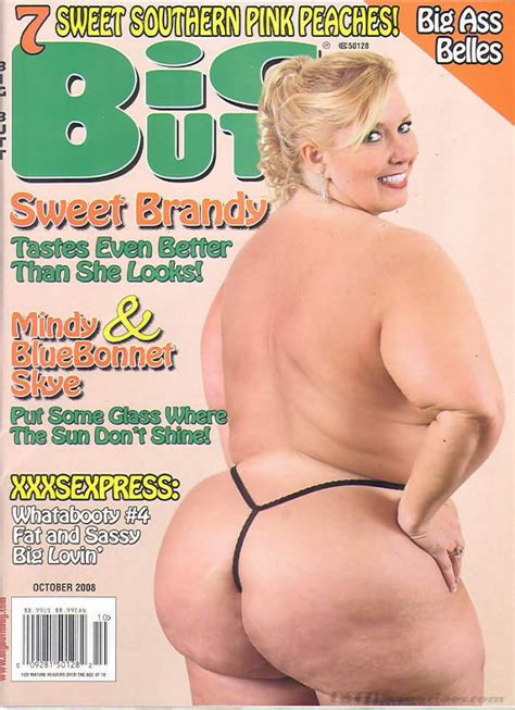 Big Butt October 2008 Magazine Back Issue Big Butt Wonderclub