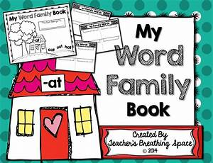 Word Family Book Writing And Illustrating Words From
