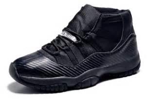 Carbon Fiber Air Jordan 11 XI Custom All Black for men