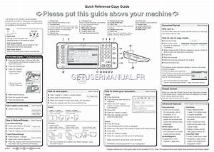 Ricoh Imprimantes Mp C6502 Guide De R U00e9f U00e9rence Rapide