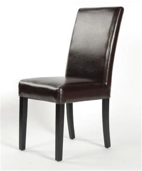 chaise en cuir chaise cuir canap 233 s fauteuil