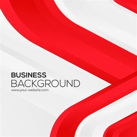 abstract red white business background flag red