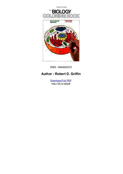 biology coloring book the biology coloring book pdf