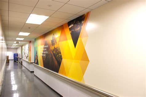 custom wall murals   office home retail printed