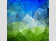 Orange triangle geometric abstract background free vector