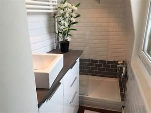 Ikea Meuble De Salle De Bain : un meuble de salle de bain avec ik a la clamartoise ~ Melissatoandfro.com Idées de Décoration